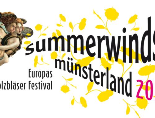 Das Linos Ensemble beim Summerwinds Festival Münsterland